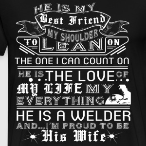 I Am Proud To Be His Wife T Shirt - Men's Premium T-Shirt