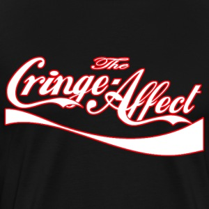 Cringe Cola Mash-Up White - Men's Premium T-Shirt