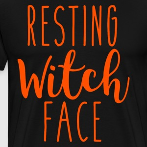 Resting witch face t-shirts - Men's Premium T-Shirt