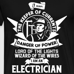 I Am The Keeper Of Currents T Shirt - Men's Premium T-Shirt