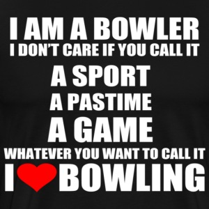 I AM A BOWLER - Men's Premium T-Shirt