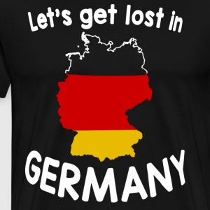 Let's get lost in germany t-shirts - Men's Premium T-Shirt