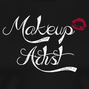 Makeup Artist (White) - Men's Premium T-Shirt