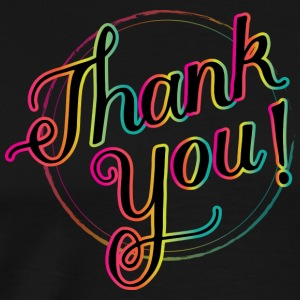 thank you! - Men's Premium T-Shirt