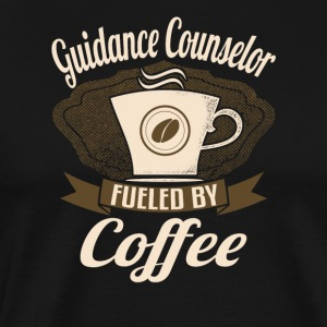 Guidance Counselor Fueled By Coffee - Men's Premium T-Shirt