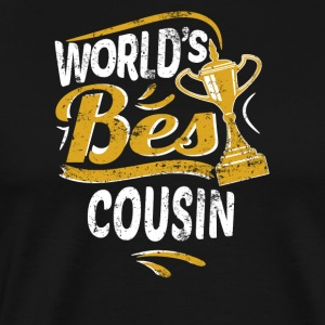 World's Best Cousin - Men's Premium T-Shirt