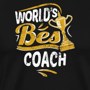 World's Best Coach - Men's Premium T-Shirt