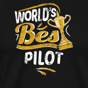 World's Best Pilot - Men's Premium T-Shirt