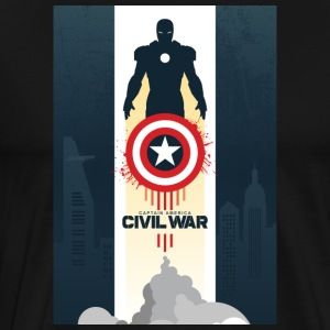 Captain America - Men's Premium T-Shirt
