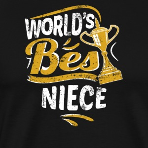 World's Best Niece - Men's Premium T-Shirt