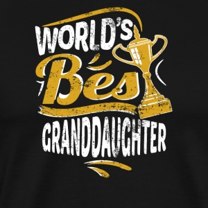 World's Best Granddaughter - Men's Premium T-Shirt