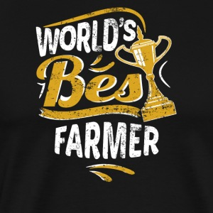 World's Best Farmer - Men's Premium T-Shirt