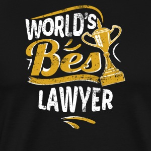 World's Best Lawyer - Men's Premium T-Shirt
