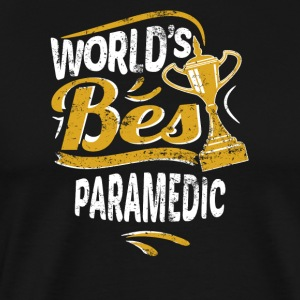 World's Best Paramedic - Men's Premium T-Shirt