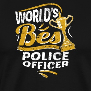 World's Best Police Officer - Men's Premium T-Shirt