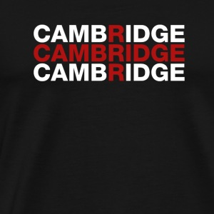 Cambridge United Kingdom Flag Shirt - Cambridge - Men's Premium T-Shirt