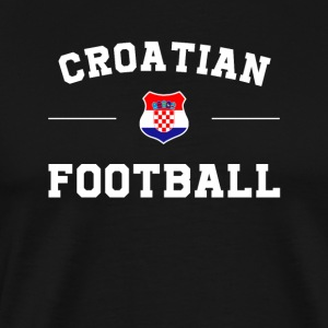 Croatia Football Shirt - Croatia Soccer Jersey - Men's Premium T-Shirt