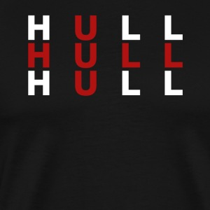Hull United Kingdom Flag Shirt - Hull T-Shirt - Men's Premium T-Shirt
