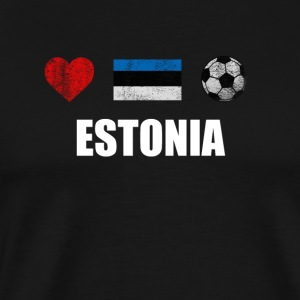 Estonia Football Shirt - Estonia Soccer Jersey - Men's Premium T-Shirt