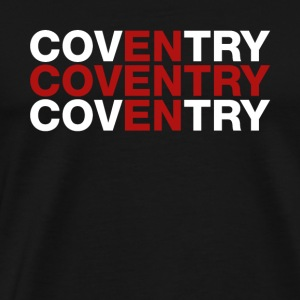 Conventry United Kingdom Flag Shirt - Conventry - Men's Premium T-Shirt