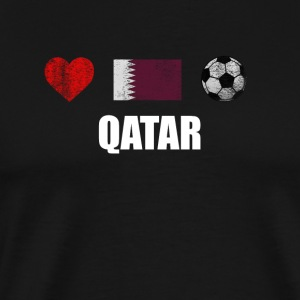 Qatar Football Shirt - Qatar Soccer Jersey - Men's Premium T-Shirt