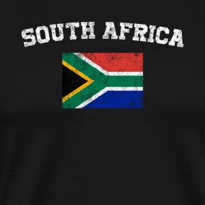 South African Flag Shirt - Vintage South Africa - Men's Premium T-Shirt