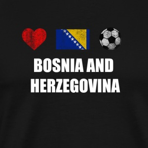 Bosnia and Herzegovina Football Shirt - Bosnia and - Men's Premium T-Shirt