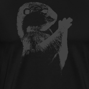 Otter Sketch - Men's Premium T-Shirt