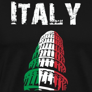 Nation-Design Italy Pisa - Men's Premium T-Shirt