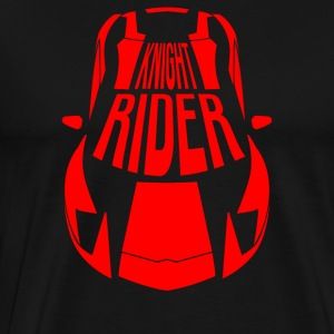 Red Super Sports Car - Knight rider Style - Men's Premium T-Shirt
