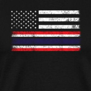 Thai American Flag - USA Thailand Shirt - Men's Premium T-Shirt