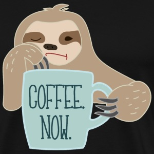 Sloth Needs Coffee - Men's Premium T-Shirt