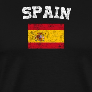 Spaniard Flag Shirt - Vintage Spain T-Shirt - Men's Premium T-Shirt