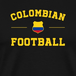 Colombia Football Shirt - Colombia Soccer Jersey - Men's Premium T-Shirt