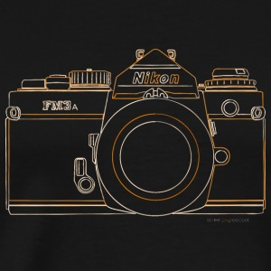 GAS - Nikon FM3a - Men's Premium T-Shirt