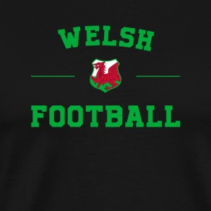 Wales Football Shirt - Wales Soccer Jersey - Men's Premium T-Shirt