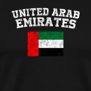 Emirati Flag Shirt - Vintage United Arab Emirates - Men's Premium T-Shirt