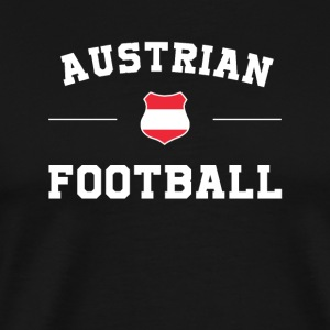 Austria Football Shirt - Austria Soccer Jersey - Men's Premium T-Shirt