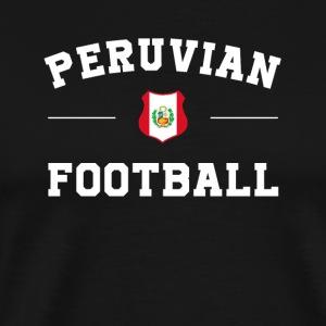 Peru Football Shirt - Peru Soccer Jersey - Men's Premium T-Shirt