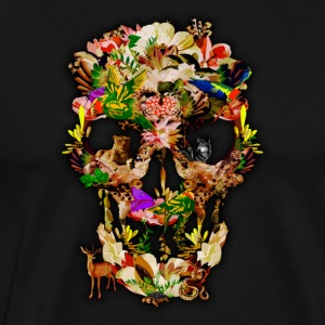Animal Kingdom Sugar Skull - Men's Premium T-Shirt