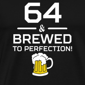 64 Brewed To Perfection - Men's Premium T-Shirt