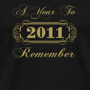 2011 A Year To Remember - Men's Premium T-Shirt