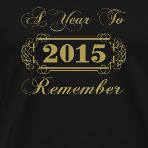 2015 A Year To Remember - Men's Premium T-Shirt