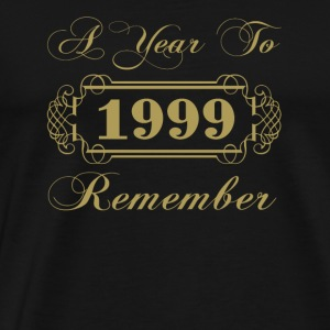 1999 A Year To Remember - Men's Premium T-Shirt