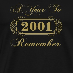 2001 A Year To Remember - Men's Premium T-Shirt