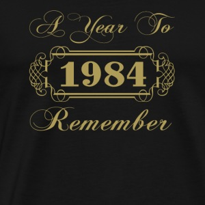 1984 A Year To Remember - Men's Premium T-Shirt
