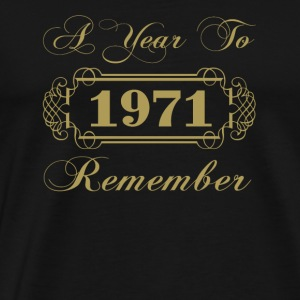 1971 A Year To Remember - Men's Premium T-Shirt