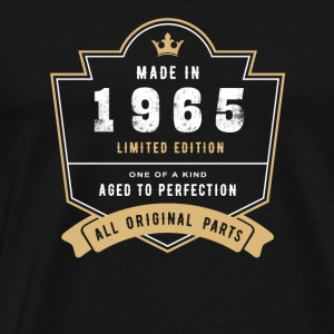 Made In 1965 Limited Edition All Original Parts - Men's Premium T-Shirt