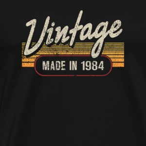 Vintage MADE IN 1984 - Men's Premium T-Shirt
