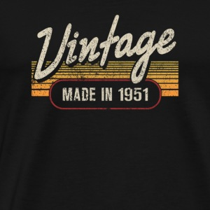 Vintage MADE IN 1951 - Men's Premium T-Shirt